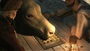 big-boss-official: koobaxion: in Assassins Creed 4 cows can walk in front of the camera while you're in the middle of a board game, making it unplayable. whoa… just like in real life : big-boss-official: koobaxion: in Assassins Creed 4 cows can walk in front of the camera while you're in the middle of a board game, making it unplayable. whoa… just like in real life