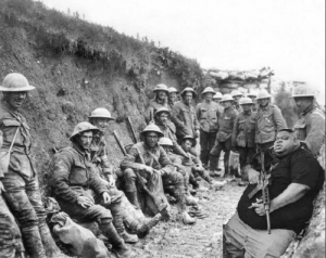 Big Nigga bravely fighting in the Trenches 1916: Big Nigga bravely fighting in the Trenches 1916