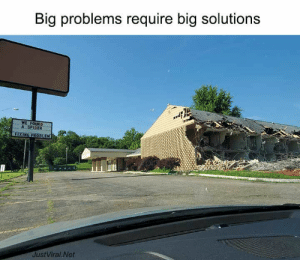 50 Funniest Pictures With Captions To Make Your Day Better - JustViral.Net: Big problems require big solutions  WE FOUND  A SPIDER  FIXING PROBLEM  JustViral.Net 50 Funniest Pictures With Captions To Make Your Day Better - JustViral.Net