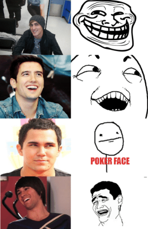 Big Time Rush and rage comics are a match made in hell: Big Time Rush and rage comics are a match made in hell