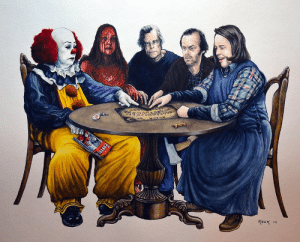 Stephen, Tumblr, and Blog: bigempty:STEPHEN KING CHARACTERS