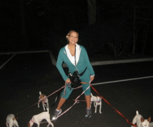 Crying, Dogs, and Skechers: bigfootjpg: bigfootjpg:   bigfootjpg: Im genuinely crying at this image. on top of everything else why is it midnight in a parking lot Me in a turquoise-teal tracksuit and reflective Skechers walking my five identical dogs at 1 in the morning   Me right now