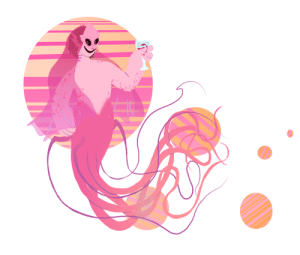 biggest-gaudiest-patronuses:  cactus-snaps submitted:Ipresent to you, mermaid Gaud! (I based the merm part off a bigfin squid): biggest-gaudiest-patronuses:  cactus-snaps submitted:Ipresent to you, mermaid Gaud! (I based the merm part off a bigfin squid)