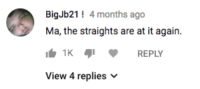 God, Lgbt, and Tumblr: BigJb21 4 months ago  Ma, the straights are at it again.  1KREPLY  View 4 replies v uglyemo:god wish that were me is an lgbt icon