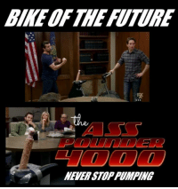 Future, Memes, and Never: BIKE OF THE FUTURE  NEVER STOP PUMPING