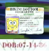 Birthday Spongebob