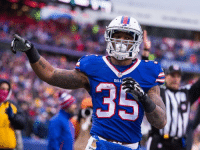 The Pats have extended a two-year, $6.4-million offer sheet to Buffalo Bills restricted free-agent running back Mike Gillislee. Buffalo will have five days to match any such deal Gillislee signs in New England. Because the club opted for an original-round tender at the beginning of the offseeason, declining to do so would land a fifth-round pick from the Patriots as compensation.: BIL  R The Pats have extended a two-year, $6.4-million offer sheet to Buffalo Bills restricted free-agent running back Mike Gillislee. Buffalo will have five days to match any such deal Gillislee signs in New England. Because the club opted for an original-round tender at the beginning of the offseeason, declining to do so would land a fifth-round pick from the Patriots as compensation.