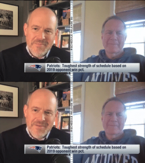 Bill Belichick checking in from home!  How's he approaching the 2020 schedule?  📺: 2020 NFL Schedule Release live now on @NFLNetwork 📱:https://t.co/TT8nFRV69n https://t.co/KVCZiqU6bJ: Bill Belichick checking in from home!  How's he approaching the 2020 schedule?  📺: 2020 NFL Schedule Release live now on @NFLNetwork 📱:https://t.co/TT8nFRV69n https://t.co/KVCZiqU6bJ