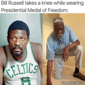 Bill Russell destroys Trump's narrative about kneeling during the national anthem: https://t.co/saz7OWBd6h https://t.co/Q2QdpytCGR: Bill Russell destroys Trump's narrative about kneeling during the national anthem: https://t.co/saz7OWBd6h https://t.co/Q2QdpytCGR