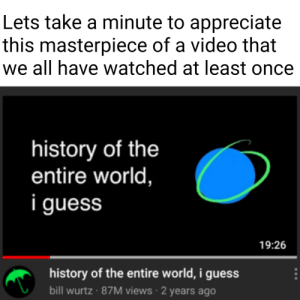 Bill Wurtz is a legend for this: Bill Wurtz is a legend for this