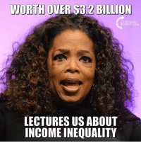 Memes, 🤖, and Usa: BILLION  TURNING  POINT USA  LECTURES US ABOUT  INCOME INEQUALITY Seems Hypocritical... #BigGovSucks