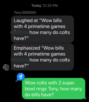 #Bills fans are DELUSIONAL https://t.co/wCxks6Xcgn: #Bills fans are DELUSIONAL https://t.co/wCxks6Xcgn