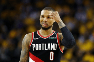 Damian Lillard, Portland, and Lillard: BiOFREEZE  PORTLAND Damian Lillard has separated ribs and is playing through his injury, per Shams Charania