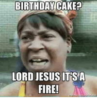 Birthday Cake Fire