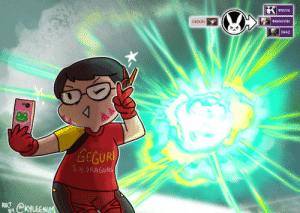 Dunk, Love, and Tumblr: BISCHU  BIGGOOSE  GEGURI  SHAZ  GEGURI  S H.DRAGONS  ART kynimdraws:  IN THIS HOUSE WE SUPPORT AND LOVE IRL DVA, GEGURI OVERWATCH!!! That self-destruct was so good ;;w;; even if we didnt get to C9 dunk the Gladiators…Twitter ver is here!