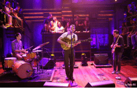 "Target, Http, and Blank: Bishop/NBC <p>Fleet Foxes frontman <a href=""http://www.latenightwithjimmyfallon.com/blogs/2013/10/robin-pecknold-performs-pearl-jams-corduroy/"" target=""_blank"">Robin Pecknold performs the Pearl Jam song &ldquo;Corduroy&rdquo;</a> for the Late Night audience!</p>"