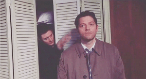 Bitch, Target, and Tumblr: bitch-jerk-assbutt-supernatural:  attack of the misha