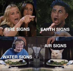 Bitch, Fire, and Earth: @BITCH.RISING  FIRE SIGNS  EARTH SIGNS  AIR SIGNS  WATER SIGNS I'm a fire sign