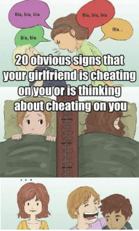 Signs your gf is cheating on you