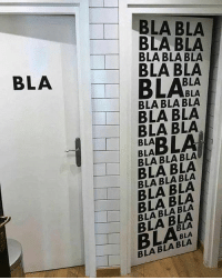 Memes, 🤖, and One: BLA BLA  BLA BLA  BLA BLA BLA  BLA BLA  BLA  BLA BLA  BLA BLA BLA  BLA BLA  BLA BLA  BLA  BLA  BLA BLA BLA  BLA BLA  BLA Which one is Men's Washroom and which one is Women's? bcbaba