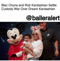 Blac Chyna and Rob Kardashian Settle Custody War Over Dream Kardashian – blogged by @MsJennyb ⠀⠀⠀⠀⠀⠀⠀ ⠀⠀⠀⠀⠀⠀⠀ The custody battle between Blac Chyna and Rob Kardashian over their 10-month-old daughter, Dream, has finally come to an end. ⠀⠀⠀⠀⠀⠀⠀ ⠀⠀⠀⠀⠀⠀⠀ According to TMZ, the former couple has agreed to joint custody, with Rob receiving a little more than 50%. As for the money, Chyna has agreed to let bygones be bygones, in regards to her domestic violence allegations, for a price. ⠀⠀⠀⠀⠀⠀⠀ ⠀⠀⠀⠀⠀⠀⠀ Initially, Chyna wanted $50k for child support but Rob would only agree to $10k. In a compromise, Rob agreed to double his offer in exchange for the dropped allegations. But, apparently, Rob wants most of the money to go to the nannies, as Rob is still concerned about Chyna's parenting. ⠀⠀⠀⠀⠀⠀⠀ ⠀⠀⠀⠀⠀⠀⠀ According to the publication, the mother of two left Dream at home over the weekend while she went out to party, so, Rob wants to make sure there are enough nannies to protect their child. ⠀⠀⠀⠀⠀⠀⠀ ⠀⠀⠀⠀⠀⠀⠀ In addition, Rob has agreed to foot the bill for Chyna's legal fees.: Blac Chyna and Rob Kardashian Settle  Custody War Over Dream Kardashian  @balleralert Blac Chyna and Rob Kardashian Settle Custody War Over Dream Kardashian – blogged by @MsJennyb ⠀⠀⠀⠀⠀⠀⠀ ⠀⠀⠀⠀⠀⠀⠀ The custody battle between Blac Chyna and Rob Kardashian over their 10-month-old daughter, Dream, has finally come to an end. ⠀⠀⠀⠀⠀⠀⠀ ⠀⠀⠀⠀⠀⠀⠀ According to TMZ, the former couple has agreed to joint custody, with Rob receiving a little more than 50%. As for the money, Chyna has agreed to let bygones be bygones, in regards to her domestic violence allegations, for a price. ⠀⠀⠀⠀⠀⠀⠀ ⠀⠀⠀⠀⠀⠀⠀ Initially, Chyna wanted $50k for child support but Rob would only agree to $10k. In a compromise, Rob agreed to double his offer in exchange for the dropped allegations. But, apparently, Rob wants most of the money to go to the nannies, as Rob is still concerned about Chyna's parenting. ⠀⠀⠀⠀⠀⠀⠀ ⠀⠀⠀⠀⠀⠀⠀ According to the publication, t
