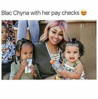 Holding on to big money right there..💰😃😂 @memeplug.90: Blac Chyna with her pay checks Holding on to big money right there..💰😃😂 @memeplug.90