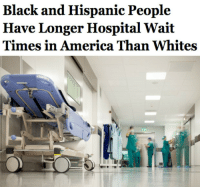 "America, Chicago, and Detroit: Black and Hispanic People  Have Longer Hospital Wait  Times in America Than Whites <p><a href=""http://conservababe.tumblr.com/post/131329607356/redbloodedamerica-thecrankyconservative"" class=""tumblr_blog"">conservababe</a>:</p>  <blockquote><p><a href=""http://redbloodedamerica.tumblr.com/post/131290866132/thecrankyconservative"" class=""tumblr_blog"">redbloodedamerica</a>:</p>  <blockquote><p><a class=""tumblr_blog"" href=""http://thecrankyconservative.tumblr.com/post/131288651865"">thecrankyconservative</a>:</p><blockquote> <p><a class=""tumblr_blog"" href=""http://friendly-neighborhood-patriarch.tumblr.com/post/131283933977"">friendly-neighborhood-patriarch</a>:</p> <blockquote> <p><a class=""tumblr_blog"" href=""http://wiltingwillowws.tumblr.com/post/131283456114"">wiltingwillowws</a>:</p> <blockquote> <p><a class=""tumblr_blog"" href=""http://ceyonaaafricangermangoddess.tumblr.com/post/131272319531"">ceyonaaafricangermangoddess</a>:</p> <blockquote> <p><a class=""tumblr_blog"" href=""http://prncssdbchrmng.tumblr.com/post/131270389574"">prncssdbchrmng</a>:</p> <blockquote> <p><a class=""tumblr_blog"" href=""http://salon.tumblr.com/post/131016630584"">salon</a>:</p> <blockquote>  <blockquote> <p>A <a href=""http://www.salon.com/2015/10/08/black_and_hispanic_people_have_longer_hospital_wait_times_in_america_than_whites_partner/?utm_source=Tumblr&amp;utm_medium=Tumblr%20Share&amp;utm_campaign=Tumblr"">short study</a> released Monday by JAMA Internal Medicine found that minorities wait, on average, 25% longer to obtain medical care than do whites. The period waiting for care, or  ""clinic time"" for White americans was about 80 minutes. For African-Americans it was 99, and for hispanics it was 105.</p> <p>The reasons for this disparity and varied and not entirely clear. Face-to-face time with doctors is roughly even across race lines so the disparity may be caused be a number of factors, many of them institutional in nature. According to The Post.</p> </blockquote> <h2><b><a href=""http://www.salon.com/2015/10/08/black_and_hispanic_people_have_longer_hospital_wait_times_in_america_than_whites_partner/?utm_source=Tumblr&amp;utm_medium=Tumblr%20Share&amp;utm_campaign=Tumblr"">Black and Hispanic people also spent nearly 10 minutes longer traveling to their appointments.</a></b></h2> </blockquote> <p>This is so true</p> </blockquote> <p><a class=""tumblelog"" href=""http://tmblr.co/msIsVeuVNSOtCufIMhECvPw"">@wiltingwillowws</a> this is why racism to white people is a MYTH</p> </blockquote> <p>HAHAHAHAHAHAHAHA you're using this to prove a point? So fucking what? I've waiting in the hospital 3 hours WHEN MY ARM WAS BROKEN. </p> <p>You can tag me in posts all you want. You can be racist to anyone. Period.</p> </blockquote> <p>hospital wait times are shit for everyone. Whoopdy fuckin doo</p> </blockquote>  <p>Hidden variables, Salon, you useless piece of dried dog shit. </p> <p>Higher population = higher wait times in hospitals. </p> <p>What are the most population-dense cities in the US?</p> <p>1. New York<br/>2. Los Angeles<br/>3. Chicago<br/>4. Huston<br/>5. Philadelphia<br/>6. Phoenix<br/>7. San Antonio<br/>8. San Diego<br/>9. Dallas<br/>10. Detroit</p> <p>Unsurprisingly, the VAST MAJORITY of blacks and hispanics in the US live in these cities. </p> <p>Whites, on the other hand, are more spread out among both highly populated areas, and those smaller, more rural areas in the mid-west which have virtually no blacks or hispanics. With this white population counted into the average, <i>of course </i>the figure for the wait time of white people would go down.  </p> <p>All Salon is reporting is <i>literally that big cities have longer wait times than smaller ones.</i></p> <p>GottdAM.<br/></p>Wut am I supposed to do with all that info? <br/><br/> I've been enlightened. </blockquote> <p><figure class=""tmblr-full"" data-orig-height=""314"" data-orig-width=""314""><img src=""https://78.media.tumblr.com/247df0e5a0fd24661dbf652f81f65928/tumblr_inline_nwbm7jzNgF1r1jtxd_500.gif"" data-orig-height=""314"" data-orig-width=""314""/></figure></p><p>It also doesn't help that many large cities have an influx of indigent people that go to the emergency room for their treatment instead of a family practice or a non-emergency clinic.  I also want to remind <a class=""tumblelog"" href=""http://tmblr.co/mT674BTG6dUgsKY7G4BYfPA"">@salon</a> that <a href=""http://dailycaller.com/2014/05/21/emergency-docs-expect-patient-influx-lower-quality-care/"">thanks to Obamacare</a>, which they probably welcomed with open arms, the problem has only been exacerbated.  This is what happens when you expand more free coverage to people who have no skin in the game.  You overcrowd the system and wait times increase.</p><p>Why are liberals so stupid?  This stuff is not complicated.</p></blockquote>  <p>^^^^^^^^^^^^</p></blockquote>"