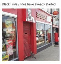 Black Friday, Friday, and Fucking: Black Friday lines have already started  POST  OFFICE  BRAZIL Don't you people have fucking jobs? 🙄 (follow @sean_speezy for more) (📷: Reddit-texican1911)