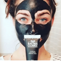 BLACK MASK  CLEANSE  REMONAL MASK @blackmaskcleanse is the best new peel off face mask to hit the market!! 😍 It removes oils, blackheads, and dead skin. It includes Aloe Vera so it doesn't leave your skin dry but leaves it clean and glowing 💁🏻☺️I need it now!! Get yours today for 60% off ➡️ www.blackmaskcleanse.com @blackmaskcleanse @blackmaskcleanse (link in their bio)