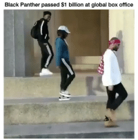 Funny, Black, and Black Panther: Black Panther passed $1 billion at global box office BlackPanther 👏🏽 @nashville_jg