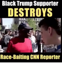 cnn.com, Friends, and Memes: Black Trump Supporter  DESTROYS  Reb  undi  Race-Baiting CNN Reporter LINK INTHE BIO OR Get your very own here 👉 Shop.UncleSamsMisguidedChildren.Com Tag all your friends to follow @unclesamsmisguidedchildren Use code USMCnation10 on your first order for 10% off UncleSamsMisguidedChildren USMCNation USMC SecondAmendment Constitutionalist Veteran Capitalist HillaryForPrison CrookedHillary HillaryForGitmo WikiLeaks Trump2016 MakeAmericaGreatAgain Patriot 3percenter Militia Oathkeeper