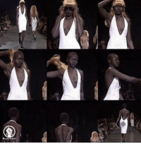 Memes, Oblige, and Aleks: BLACKTIVIST Alek Wek is now a hero for many of us. Supermodel decided not to go with the crowd that set the European standards of beauty. Despite the fact that all of the fashion models were obliged to wear blond wigs, she did something that was against the norm- she took her wig off and threw it in the crowd. YouGoGirl Blacktivist hotnews black africanamerican blackpower proudtobeblack blackbusiness blackunity blackis melanin icantbreath neverforget sayhername blackhistorymonth blacklivesmatter blackpride blackandproud dreamchasers blackgirls blackwomen blackman westandtogether altonsterling philandocastile