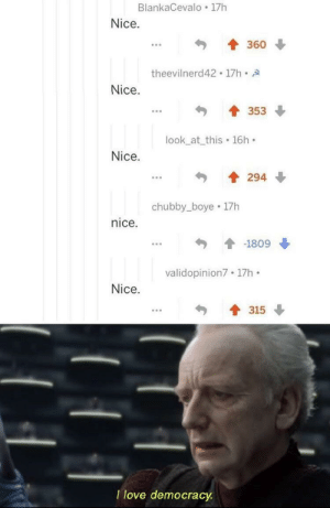 A surprise to be sure, but a welcome one by RobMacTod MORE MEMES: BlankaCevalo 17h  Nice.  360  theevilnerd42 17h A  Nice.  353  look_at_this 16h  Nice.  294  chubby_boye 17h  nice  -1809  validopinion7 17h  Nice.  315  I love democracy A surprise to be sure, but a welcome one by RobMacTod MORE MEMES