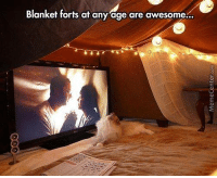 Kid or adult, no one can resist the charm of a blanket fort!: Blanket forts at any age are awesome. Kid or adult, no one can resist the charm of a blanket fort!