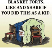 blanket fort: BLANKET FORTS.  LIKE AND SHARE IF  YOU DID THIS AS A KID.