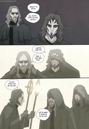 blastedking:  This definitely did NOT happened! 😂 (srsly, it's fun, but unfortunately in Universe the situation is a bit too grim for this silliness)  This is to make up for the fact that I barely draw any of the Powerwolf guys besides Attila in the comic 😔: blastedking:  This definitely did NOT happened! 😂 (srsly, it's fun, but unfortunately in Universe the situation is a bit too grim for this silliness)  This is to make up for the fact that I barely draw any of the Powerwolf guys besides Attila in the comic 😔