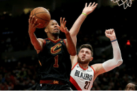 Blazers are trading Nik Stauskas, Wade Baldwin and two 2nd-round picks to Cleveland for Rodney Hood, per Adrian Wojnarowski: Blazers are trading Nik Stauskas, Wade Baldwin and two 2nd-round picks to Cleveland for Rodney Hood, per Adrian Wojnarowski