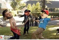 Bryce Harper and Jonathan Papelbon got into a brawl in the Nationals dugout. Who ya got?! ⚾️👊: bleacher  report  b Bryce Harper and Jonathan Papelbon got into a brawl in the Nationals dugout. Who ya got?! ⚾️👊