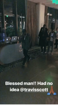 Blessed, LeBron James, and Party: Blessed man!! Had no  idea @travisscott LeBron James and Savannah James were surprised with a performance by Travis Scott and Sheck Wes at their anniversary party! 🎶🙌💯 @KingJames https://t.co/4X9esZfDiW