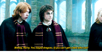 """What Are Those, Date, and Http: Blimey, Harry. You slayed dragons, if you can't get a date who can? <p>What are those Hufflepuffs doing with their hands? <a href=""""http://ift.tt/1vchkBN"""">http://ift.tt/1vchkBN</a></p>"""
