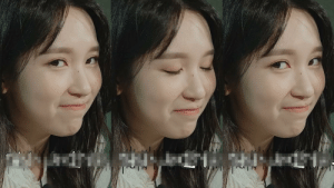 Blinking meme, but with Mina in it.: Blinking meme, but with Mina in it.