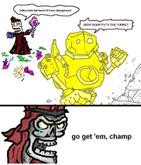 Objecitives are essential!: blitzcrank fall back! it's too dangerous!  BEEP BOOP FU*K THE TURRET  go get 'em, champ Objecitives are essential!
