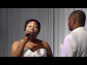 Beautiful, Love, and Mariah Carey: blkwknd:  c-bassmeow:  This woman really slayed an ADVANCED Mariah Carey song at her own wedding. This was so beautiful to hear and watch. Absolutely incredible. Bless her.   i love….black women.