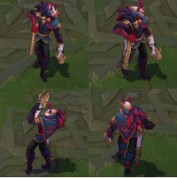 Blood Moon Jhin turnaround | 1350 RP LeagueofLegends: Blood Moon Jhin turnaround | 1350 RP LeagueofLegends