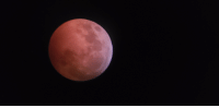 Blood moon/lunar eclipse 2019 (oc): Blood moon/lunar eclipse 2019 (oc)