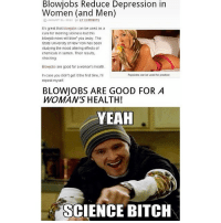 Situation are blowjobs healthy for women