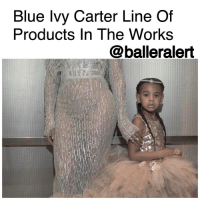 """Blue Ivy Carter Line Of Products In The Works -blogged by @BenitaShae ⠀⠀⠀⠀⠀⠀⠀⠀⠀ ⠀⠀⠀⠀⠀⠀⠀⠀⠀ BlueIvy is a mini-mogul in the making. ⠀⠀⠀⠀⠀⠀⠀⠀⠀ ⠀⠀⠀⠀⠀⠀⠀⠀⠀ According to TMZ, Beyoncé wants to launch a line of Blue Ivy Carter products, from hair care to clothing to video games and more. Bey's company filed legal documents to get the ball rolling and their application should get approved very soon. ⠀⠀⠀⠀⠀⠀⠀⠀⠀ ⠀⠀⠀⠀⠀⠀⠀⠀⠀ Back in 2012, Beyonce's company tried to file a similar document but it was unsuccessful because someone used the name """"Blue Ivy."""" Hopefully adding Carter at the end will speed up the process. ⠀⠀⠀⠀⠀⠀⠀⠀⠀ ⠀⠀⠀⠀⠀⠀⠀⠀⠀ Would you purchase Blue Ivy Carter products?: Blue Ivy Carter Line Of  Products In The Works  balleralert Blue Ivy Carter Line Of Products In The Works -blogged by @BenitaShae ⠀⠀⠀⠀⠀⠀⠀⠀⠀ ⠀⠀⠀⠀⠀⠀⠀⠀⠀ BlueIvy is a mini-mogul in the making. ⠀⠀⠀⠀⠀⠀⠀⠀⠀ ⠀⠀⠀⠀⠀⠀⠀⠀⠀ According to TMZ, Beyoncé wants to launch a line of Blue Ivy Carter products, from hair care to clothing to video games and more. Bey's company filed legal documents to get the ball rolling and their application should get approved very soon. ⠀⠀⠀⠀⠀⠀⠀⠀⠀ ⠀⠀⠀⠀⠀⠀⠀⠀⠀ Back in 2012, Beyonce's company tried to file a similar document but it was unsuccessful because someone used the name """"Blue Ivy."""" Hopefully adding Carter at the end will speed up the process. ⠀⠀⠀⠀⠀⠀⠀⠀⠀ ⠀⠀⠀⠀⠀⠀⠀⠀⠀ Would you purchase Blue Ivy Carter products?"""
