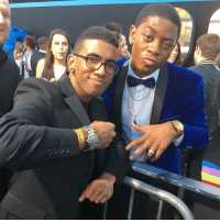 Memes, 🤖, and Ranger: Blue Ranger Swag with @rj_cyler! The guy is hilarious just like his character. 👊🏾🔵 Repin' BillyCranston together. TogetherWeAreMore PowerRangersMovie