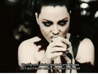 [p] Evanescence - Going Under: Blurring and Stirring the truth and the lies  So I don't know Myhat's real and Whatisnot [p] Evanescence - Going Under