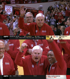 Bob Knight's return to @IndianaMBB was 🙌 https://t.co/D3kPjvjDmi: Bob Knight's return to @IndianaMBB was 🙌 https://t.co/D3kPjvjDmi